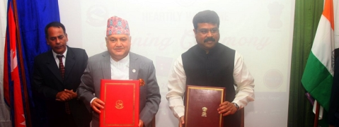 India-Nepal oil pipeline opens next month