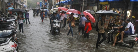 Heavy rains claim five lives in Palghar, Thane