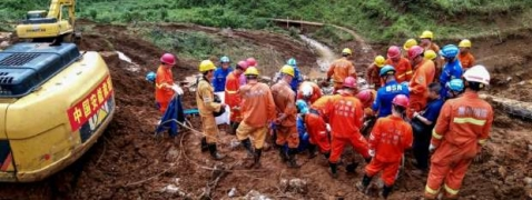 Death toll in China landslide rises to 20