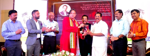 Dr Shashi Tharoor launches 'Story of My Scalpel'