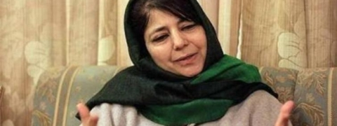 Taking up gun, attacking innocents no solution, Mehbooba