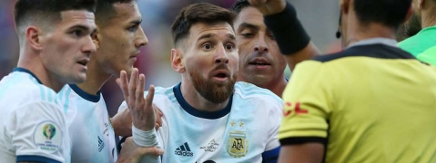 Messi receives one-match World Cup qualifier ban