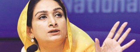 Congress members clash with Harsimrat Kaur in LS on rise of cancer in Punjab