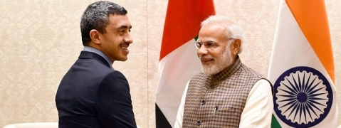 UAE Foreign Minister meets PM Modi