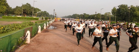 Kargil 'victory run' flagged off in Delhi