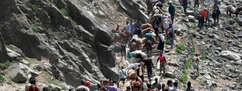 Fresh batch of 2723 pilgrims leave for Amarnath