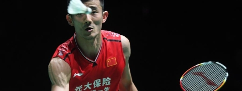 Olympic champion Chen Long knocked out by Antonsen in badminton world