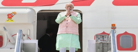PM Modi embarks on three-nation tour to France, UAE and Bahrain