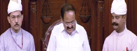 RS passed 31 Bills; productivity at 104 pc: Naidu