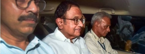 Chidambaram in CBI special court; CBI seeks 5-day custody