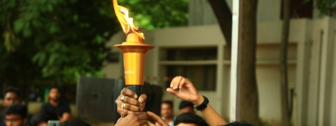 Special Olympics Torch arrives in Chennai