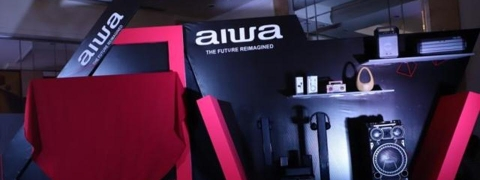 AIWA launches new range of entertainment products