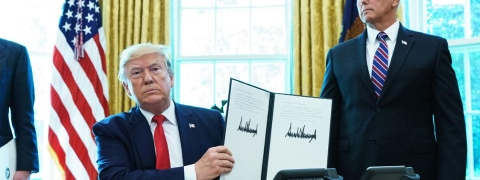 Trump imposes new sanctions on Iran