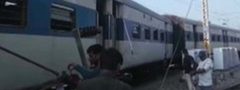 Lucknow bound train derails at Kanpur central station; none injured