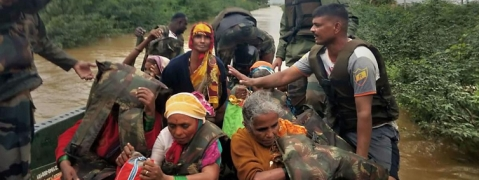 Around 1.70 lakh victims taken to relief camps as flood ebb away in Sangli