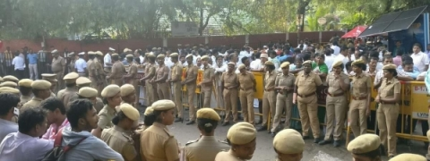 Security tightened in TN ahead of I-Day