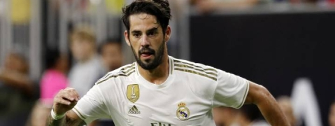 Isco in Real Madrid's injury list