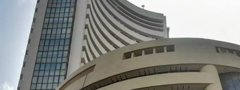 Sensex bounces back 263.86 pts