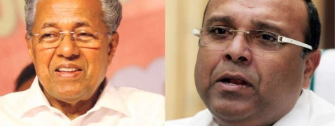 Pinarayi 'outsmarts' BJP, writes to Centre for Thushar Vellappally