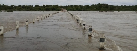 Swollen rivers and heavy rains continue to wreck havoc in Karnataka