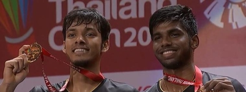 Rankireddy and Chirag Shetty clinch Thailand Open Title