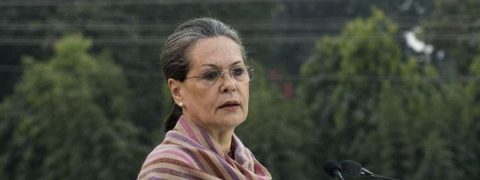 Sonia's passionate missive to late BJP leader's husband