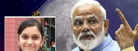Lucknow girl to watch Chandrayaan-2 landing on Moon