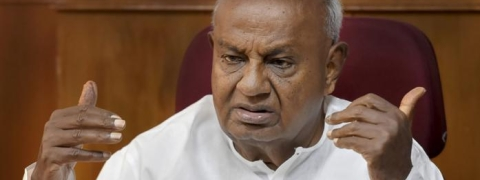 Deve Gowda appeals to PM to declare Karnataka Flood as National calamity