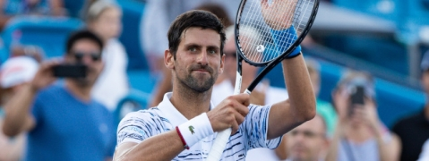 Djokovic clinches first win at Cincinnati