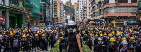 Week-end protests mount in Hong Kong