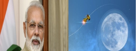 Modi congratulates Team ISRO