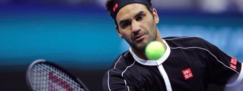 Federer into US Open second round