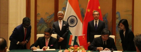 India and China ink pacts including on sports, culture and traditional medicine