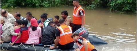 Flood levels subside in most of 17 Dists, Karnataka