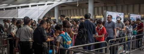 4 Hong Kong rail stations closed ahead of protest