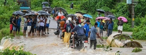 Flood situation continues to be grim in Karnataka
