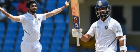 Bumrah, Rahane break into top 10 of ICC Test Rankings