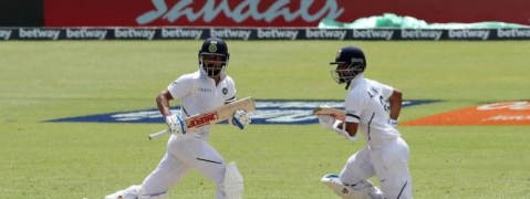 Kohli, Rahane fifties move India into dominant position