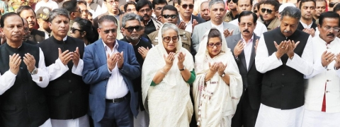 Bangla leaders pay tributes to Sushma