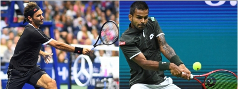 India's Sumit Nagal snatches a set from Federer in US Open