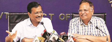 Kejriwal appeals for '10 Hafte,10 Baje,10 Minute' movement