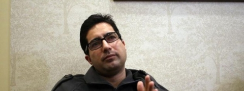 State flag is flying along with tricolor in Kashmir: Faesal