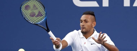 Kyrgios into third round at US Open