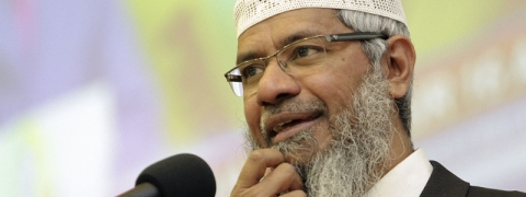 Zakir Naik barred from preaching in a Malaysian religious event