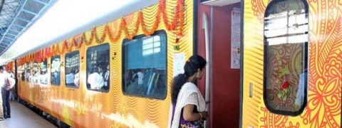 First pvt train Tejas likely to have its inaugural run on Oct 4