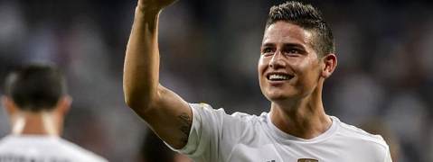 James hoping to recapture best form at Real Madrid