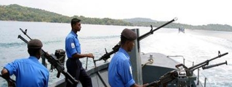 Sri Lankan Navy rescues 4 Indian fishermen