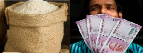 Govt starts provision of cash instead of rice