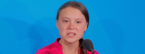 Greta Thunberg tells world leaders 'you are failing us'