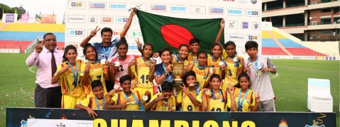 Bangladesh lift Subroto Cup U-17 Girls title for consecutive 3rd year